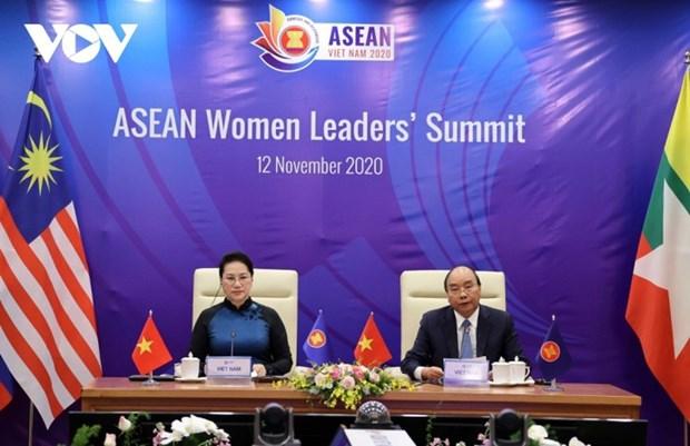 加强国际合作、促进性别平等 hinh anh 2