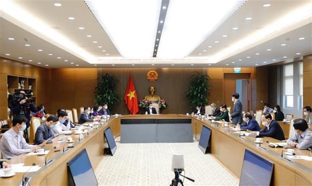 武德儋副总理:海阳省要继续加快新冠病毒检测和患者活动轨迹调查工作 hinh anh 1