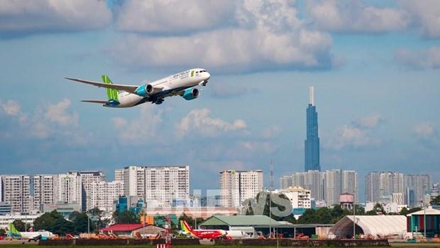 越南各家航空公司航班准点率处在较高水平 hinh anh 1