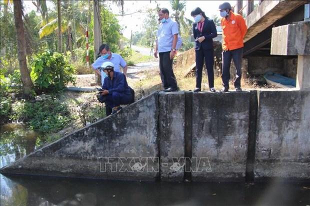 从今年3月至8日北部河流缺乏水量约20-30% 南部继续遭受海水入侵 hinh anh 1