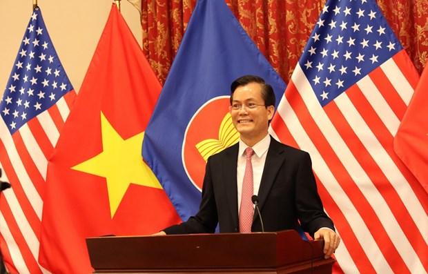 美国希望对东南亚地区的发展起到积极作用 hinh anh 1