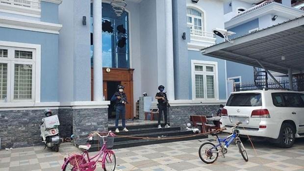 柬埔寨金边市宪兵队击毙4名武装绑架勒索犯 hinh anh 1