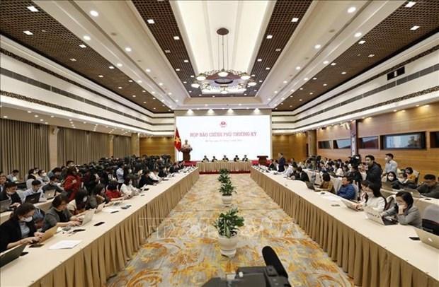 越南政府2月份例行新闻发布会:新冠疫苗接种工作预计于本周末或下周初进行 hinh anh 1
