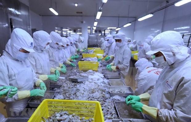 2021年前2月越南对美农林水产品出口额同比增长57.3% hinh anh 1