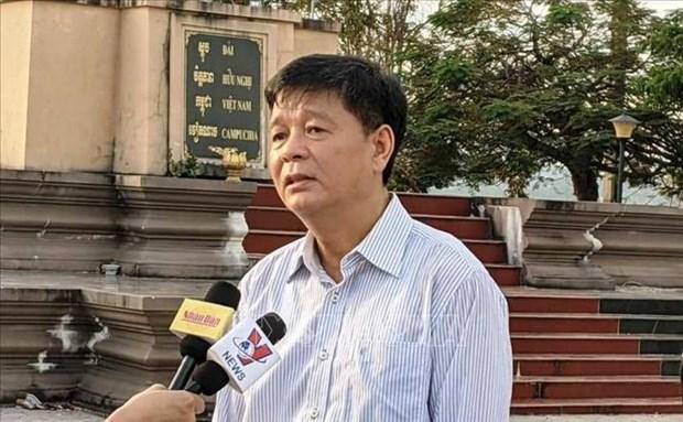 新冠肺炎疫情:越南驻西哈努克省总领事馆助力旅居柬埔寨越侨抗疫 hinh anh 1