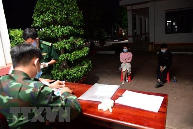 胡志明市发现40名非法入境的外籍人员 hinh anh 1