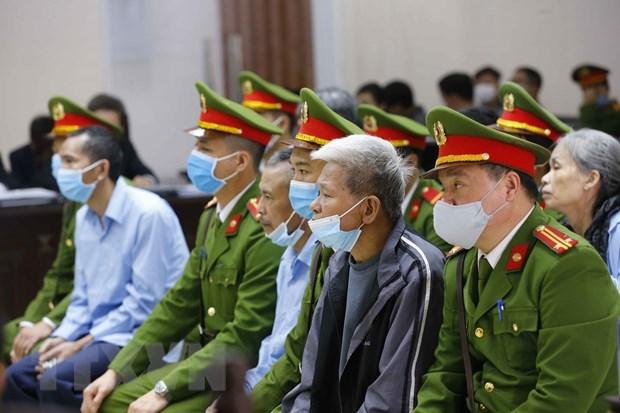 河内同心乡谋杀和妨碍公务案:被告人请求二审法院减轻量刑 hinh anh 1