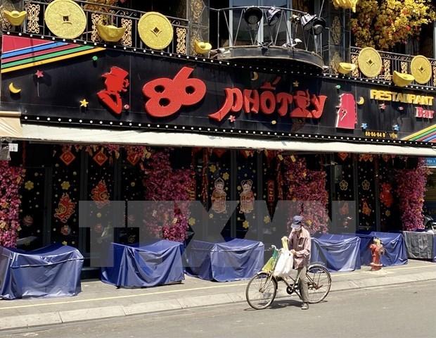 新冠肺炎疫情:胡志明市继续暂停卡拉ok厅、舞厅、酒吧的运营活动 hinh anh 1