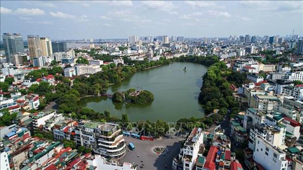 河内市空气质量指数跃升20位 hinh anh 1