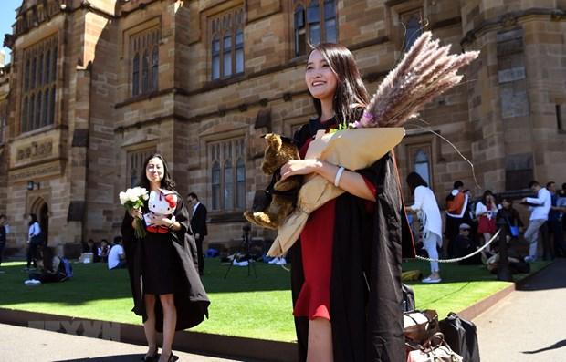 越南成为2020年澳大利亚第四大国际留学生来源国 hinh anh 1