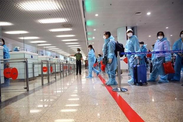 """新冠肺炎疫情:拥有""""疫苗护照""""的人仍需进行14天隔离观察 hinh anh 1"""