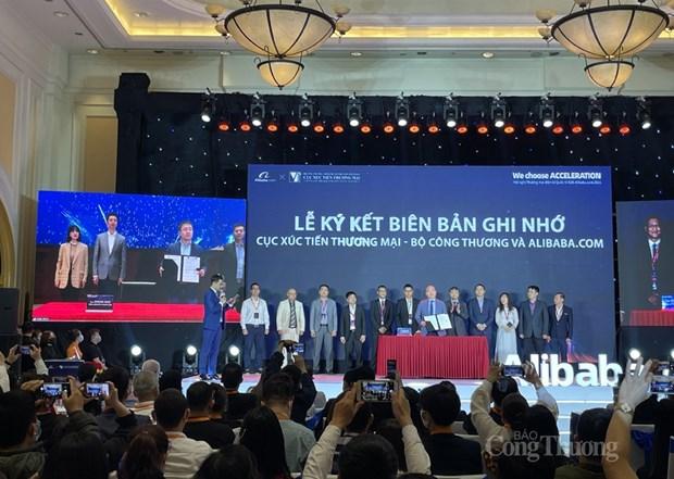 越南与Alibaba.com合作 为越南企业发展跨境电商出口业务提供支持 hinh anh 1