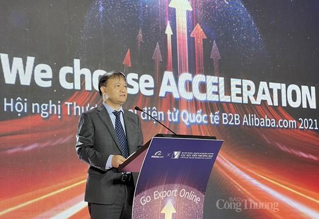越南与Alibaba.com合作 为越南企业发展跨境电商出口业务提供支持 hinh anh 2