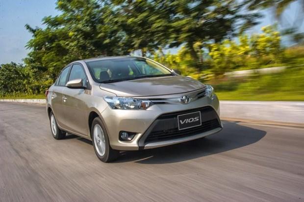 丰田汽车销售量环比下降45% hinh anh 1