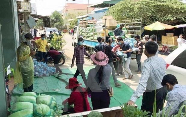 努力协助正在接受隔离的越裔柬埔寨人 hinh anh 1