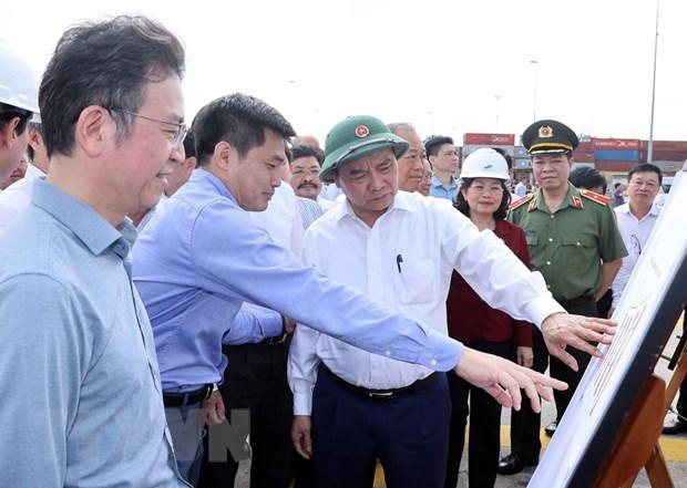 阮春福总理:到2030年将盖梅—布市建设成为地区的重点港口 hinh anh 1