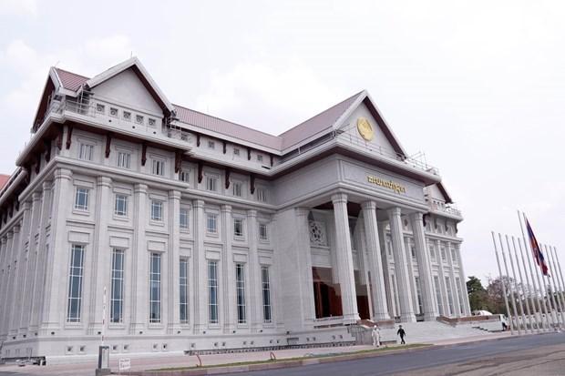 越南向老挝移交新的国会大厦项目 为老挝第九届国会第一次会议提供服务 hinh anh 1
