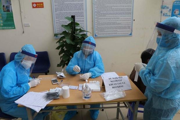 3月25日越南无新增新冠肺炎确诊病例 一次检测以上呈阴性反应病例120例 hinh anh 1
