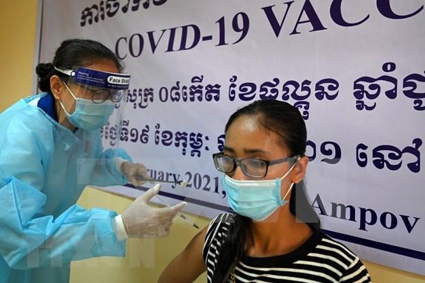 菲律宾单日新增新冠肺炎确诊病例9838例柬埔寨新增96例确诊病例 hinh anh 1