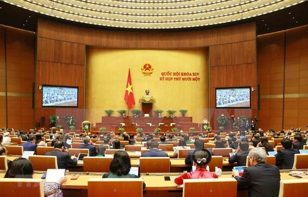 越南第十四届国会第十一次会议新闻公报(第三号) hinh anh 1