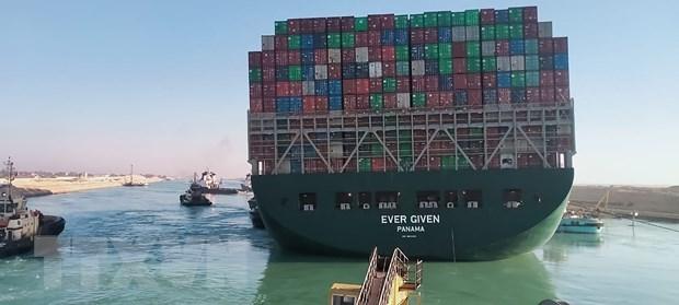 埃及苏伊士运河事件或将对部分越南企业的进出口活动产生影响 hinh anh 1