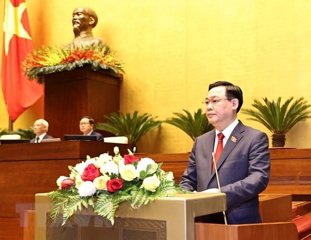 各国国会领导人向越南国会信任主席王廷惠致贺电 hinh anh 1