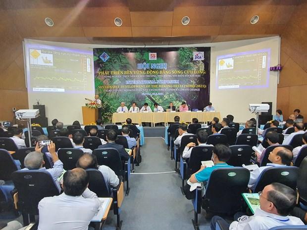 越南着力推动九龙江三角洲可持续发展和适应气候变化 hinh anh 2
