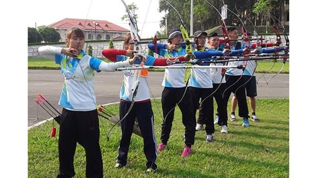 2021年全国优秀射箭运动员锦标赛正式开赛 hinh anh 1