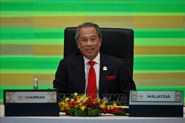 文莱与马来西亚加强双方合作 同意东盟各国共商缅甸问题 hinh anh 1