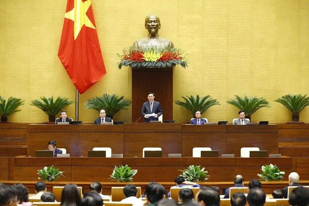 越南第十四届国会第十一次会议举行闭幕会 hinh anh 1