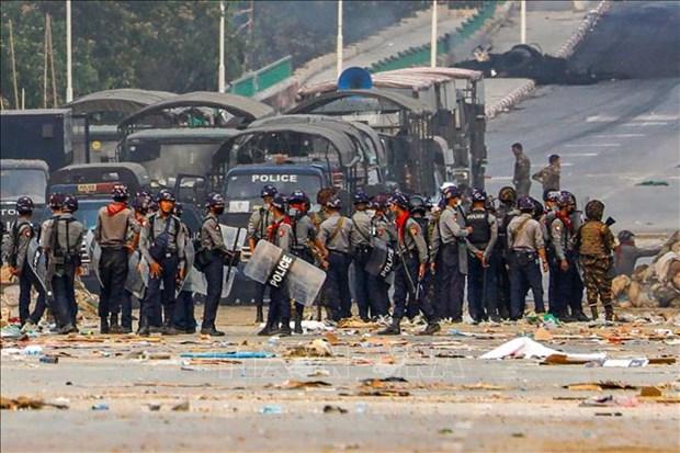 越南与联合国安理会:越南呼吁国际社会帮助缅甸停止暴力促进对话 hinh anh 1