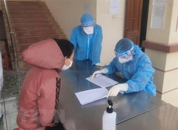 越南新增5例输入性病例 hinh anh 1