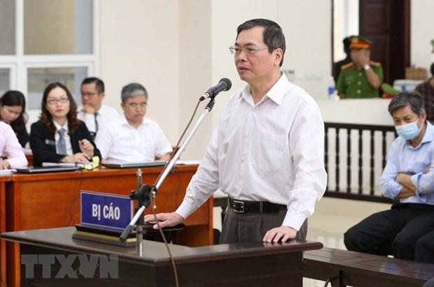 原工贸部部长武辉煌及其同案因造成国有资产超过2.7万亿越盾的损失再度出庭受审 hinh anh 1