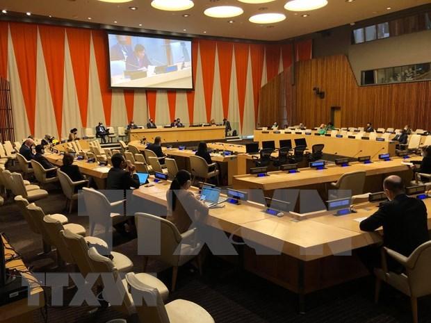 越南与联合国安理会:国际社会高度评价越南在4月份所主持召开的各场公开辩论会 hinh anh 2