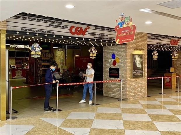 从5月3日下午起胡志明市及河内暂时关闭许多不必要的服务场所 hinh anh 1