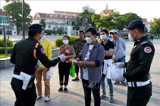 柬埔寨新增841例新冠肺炎确诊病例 hinh anh 1