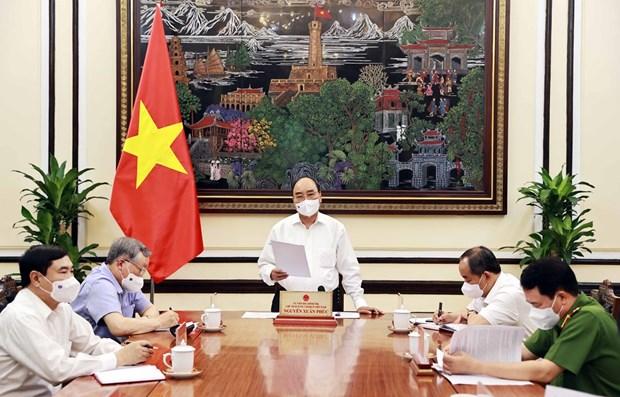 国家主席阮春福:特赦工作要公开透明 hinh anh 1