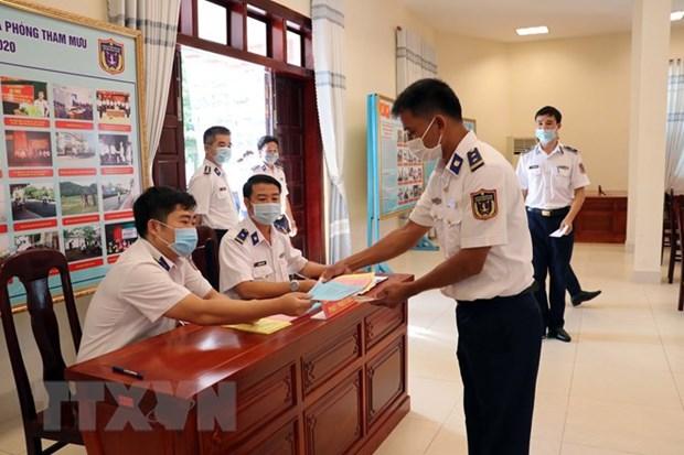为长天在海上工作提前举行国会和议会代表选举 hinh anh 2
