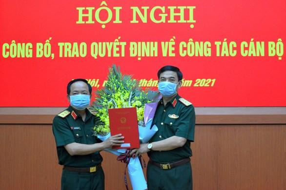 郑文决中将被任命为越南人民军总政治局副主任 hinh anh 1