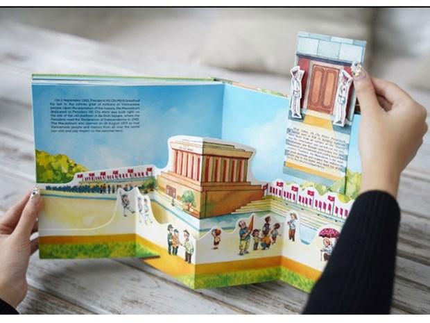 《河内千年记忆》立体书展现生机勃勃的首都风貌 hinh anh 1