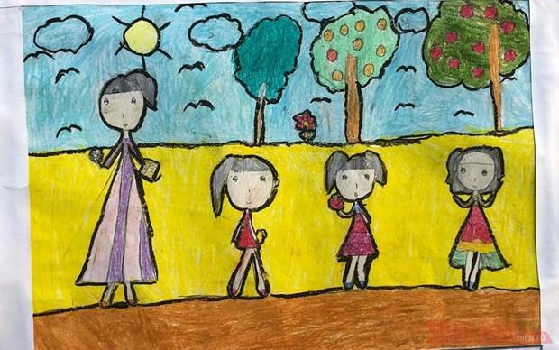 2021年越南儿童美术奖活动将于今年第三季度举行 hinh anh 1