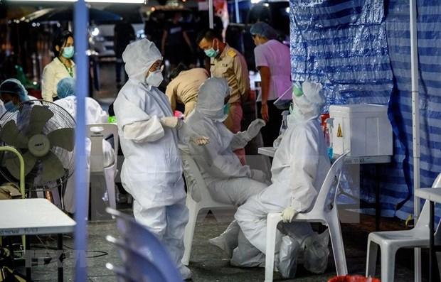 泰国新增2101例 马来西亚新增病例连续两日破4000例 hinh anh 1