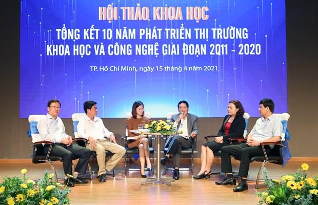 越南科技市场正处于形成与发展过程中 hinh anh 2