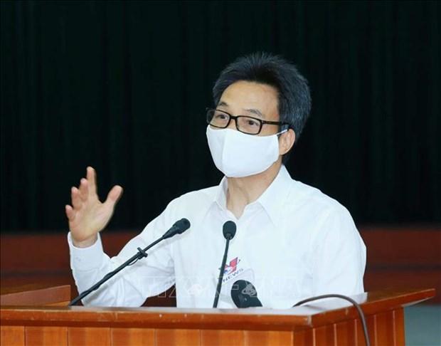 政府副总理武德儋:政府呼吁民众从严落实新冠肺炎疫情防控措施 hinh anh 2