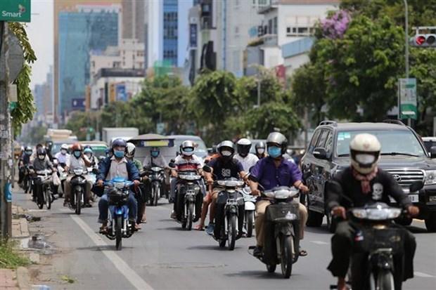 新冠肺炎疫情:向柬埔寨人民提供5亿越盾的防疫援助 hinh anh 1