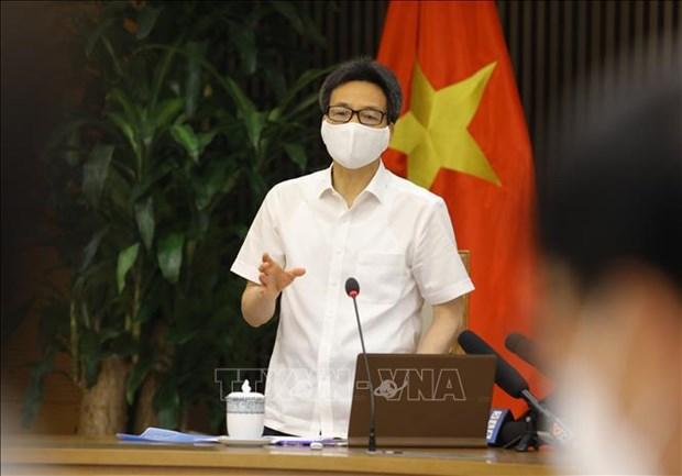 政府副总理武德儋:决不让疫情在各工业区扩散蔓延 hinh anh 2