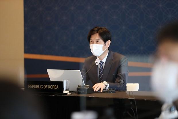 美韩两国讨论与东盟加强合作的方案 hinh anh 1