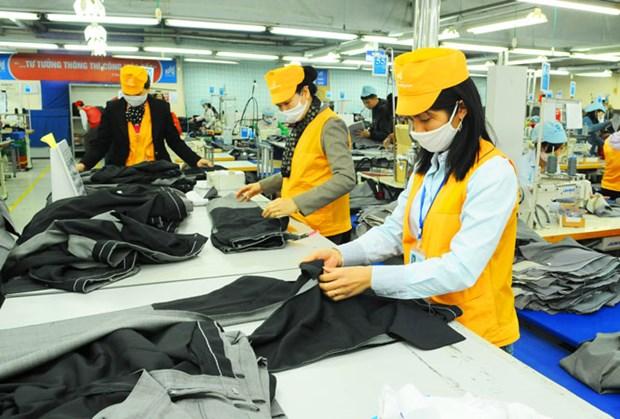 越南纺织服装业营业收入有望暴涨