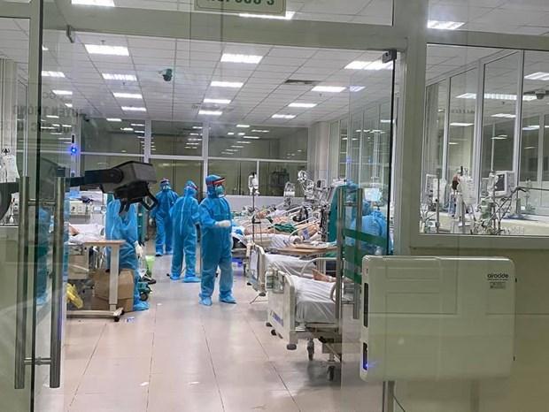 越南新增一例因严重基础疾病而死亡的新冠肺炎病例 hinh anh 1