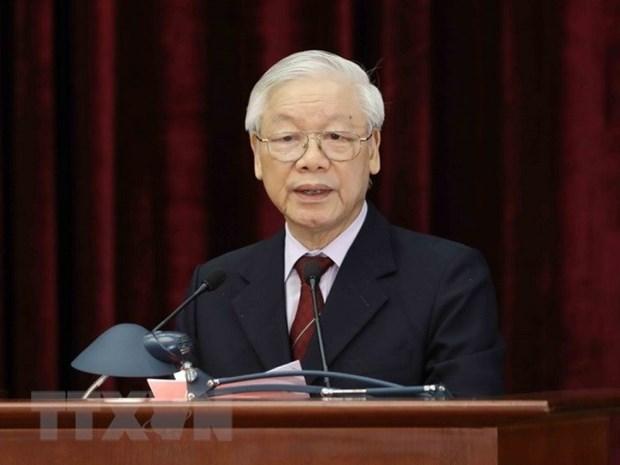 越共中央总书记阮富仲:社会主义理论与实践若干问题和越南走向社会主义的道路 hinh anh 1
